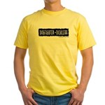 Dickless Yellow T-Shirt