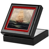 Tall Ship Keepsake Box