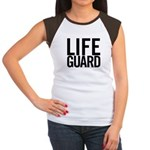 Life Guard (black) Women's Cap Sleeve T-Shirt