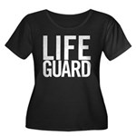 Life Guard (white) Women's Plus Size Scoop Neck Da