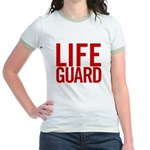 Life Guard (red) Jr. Ringer T-Shirt