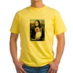 Mona's Papillon Yellow T-Shirt