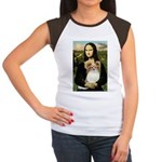 Mona's Papillon Women's Cap Sleeve T-Shirt