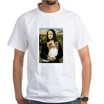 Mona's Papillon White T-Shirt