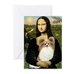 Mona's Papillon Greeting Cards (Pk of 10)
