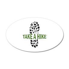 Take A Hike Wall Decal