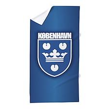 Kobenhavn Beach Towel