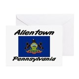 Allentown Pennsylvania Greeting Cards (Pk of 10)