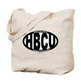 Black/White HBCU Tote Bag