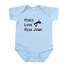 Peace Love High Jump Body Suit