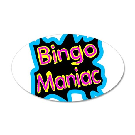 Bingo Maniac Wall Decal