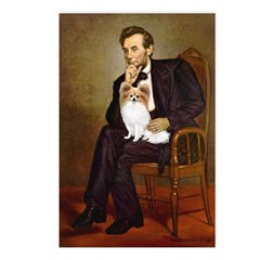 Lincoln's Papillon Postcards (Package of 8)