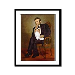Lincoln's Papillon Framed Panel Print