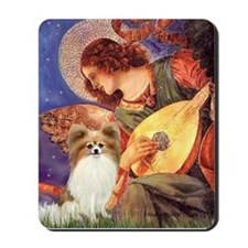 Mandolin Angel & Papillon Mousepad