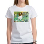 Irises / Papillon Women's T-Shirt
