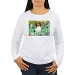 Irises / Papillon Women's Long Sleeve T-Shirt