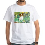 Irises / Papillon White T-Shirt