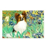 Irises / Papillon Postcards (Package of 8)