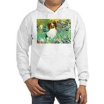 Irises / Papillon Hooded Sweatshirt