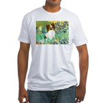 Irises / Papillon Fitted T-Shirt