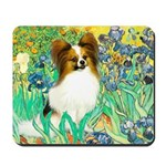 Irises / Papillon Mousepad