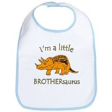 I'm a Little Brothersaurus Bib