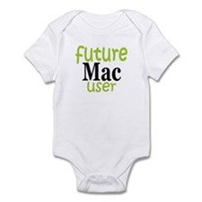 Future Mac User (green) Infant Bodysuit