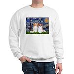 Starry Night & Papillon Sweatshirt