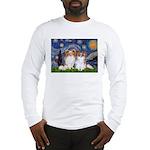 Starry Night & Papillon Long Sleeve T-Shirt