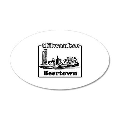 Beertown Wall Decal