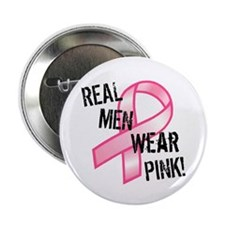 Real Men wear Pink Button