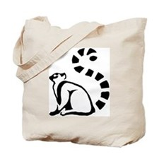Clean Lemur Tote Bag