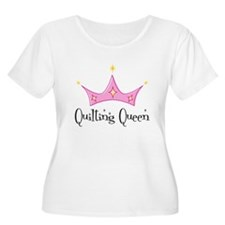 quiltingqueen Plus Size T-Shirt