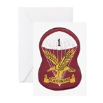 S.A. 1st Para Battalion Greeting Cards (Pk of 10)