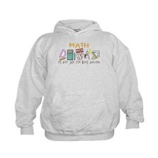 Math: It's Not Just For Boys Anymore Hoodie