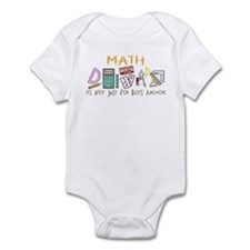 Math: It's Not Just For Boys Anymore Infant Bodysu