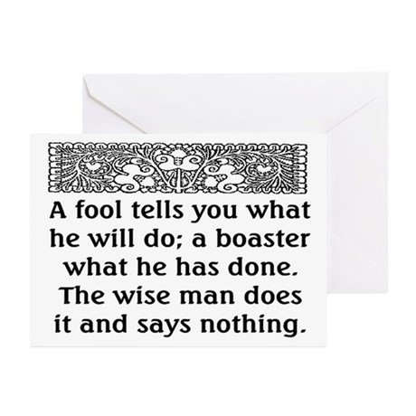 THE FOOL... Greeting Cards (Pk of 20)