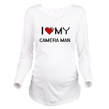 I love my Camera Man Long Sleeve Maternity T-Shirt