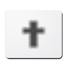 Faded Edge Cross Mousepad