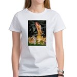 Fairies & Corgi Women's T-Shirt