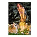 Fairies & Corgi Postcards (Package of 8)