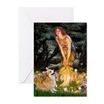 Fairies & Corgi Greeting Cards (Pk of 10)