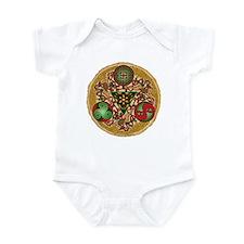 Celtic Reindeer Shield Infant Bodysuit
