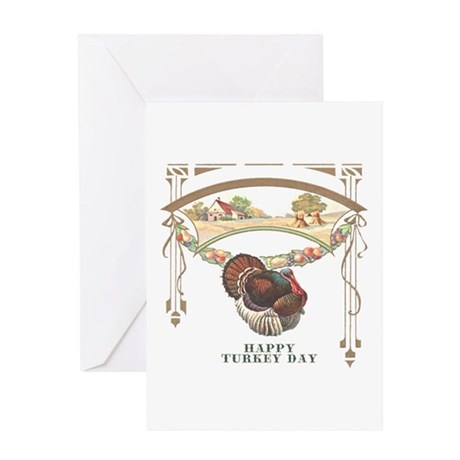 Turkey Day Greeting Card