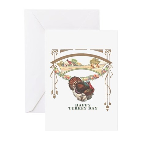 Turkey Day Greeting Cards (Pk of 20)