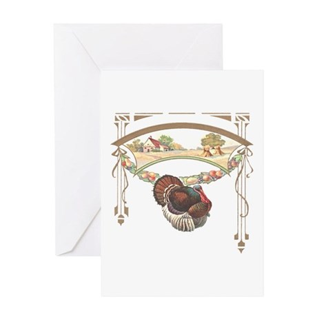 Thanksgiving Turkey Greeting Card