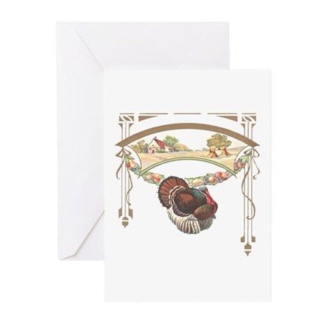 Thanksgiving Turkey Greeting Cards (Pk of 10)