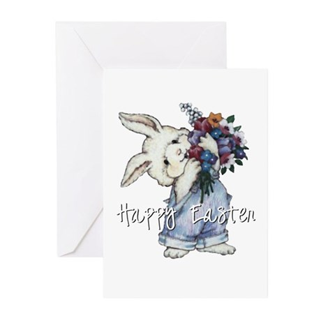 Easter Bunny Greeting Cards (Pk of 20)
