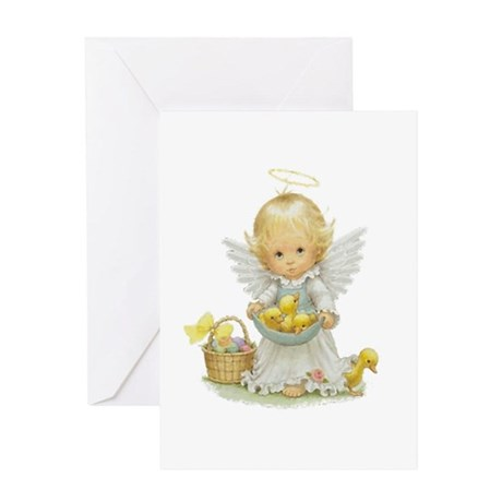 Easter Angel Greeting Card