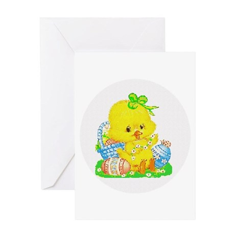 Easter Duckling Greeting Card